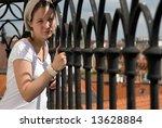 beautiful girl posing | Shutterstock . vector #13628884
