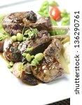 lamb chops | Shutterstock . vector #136290761