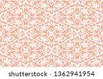 floral pattern. vintage...   Shutterstock . vector #1362941954
