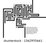 abstract vector background... | Shutterstock .eps vector #1362955661