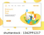 online sales and stores vector...