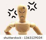 image of a furious person   Shutterstock . vector #1363129034