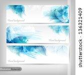 floral design | Shutterstock .eps vector #136321409