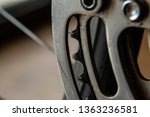 bike chain gear rear derailleur ... | Shutterstock . vector #1363236581