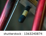 bike tire valve inflate steam... | Shutterstock . vector #1363240874