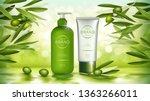 vector cosmetic realistic... | Shutterstock .eps vector #1363266011
