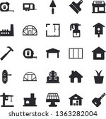 solid vector icon set   house...   Shutterstock .eps vector #1363282004