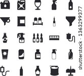 solid vector icon set   spice...   Shutterstock .eps vector #1363299377