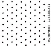 seamless pattern with black... | Shutterstock . vector #1363301681