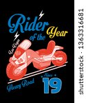 las vegas rider of the year t... | Shutterstock .eps vector #1363316681