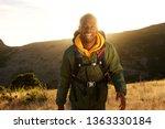 portrait of happy african...   Shutterstock . vector #1363330184