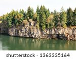rocks and forest at high... | Shutterstock . vector #1363335164