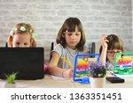 education  elementary school ... | Shutterstock . vector #1363351451