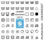 international laundry washing... | Shutterstock . vector #1363400267