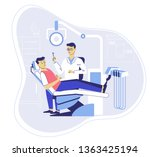 medicine dental concept....   Shutterstock .eps vector #1363425194