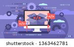open source vector illustration.... | Shutterstock .eps vector #1363462781