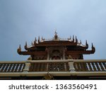 architecture in thai temples ... | Shutterstock . vector #1363560491