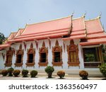 architecture in thai temples ... | Shutterstock . vector #1363560497