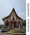 architecture in thai temples ... | Shutterstock . vector #1363560581