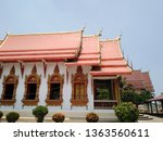 architecture in thai temples ... | Shutterstock . vector #1363560611