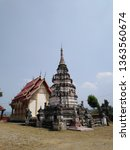 architecture in thai temples ... | Shutterstock . vector #1363560674