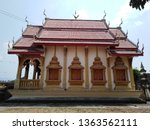 architecture in thai temples ... | Shutterstock . vector #1363562111