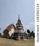 architecture in thai temples ... | Shutterstock . vector #1363562114