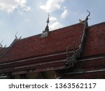 architecture in thai temples ... | Shutterstock . vector #1363562117