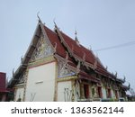 architecture in thai temples ... | Shutterstock . vector #1363562144