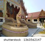 architecture in thai temples ... | Shutterstock . vector #1363562147