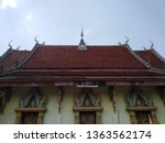 architecture in thai temples ... | Shutterstock . vector #1363562174