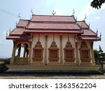 architecture in thai temples ... | Shutterstock . vector #1363562204
