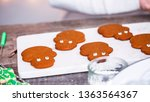 step by step. decorating... | Shutterstock . vector #1363564367