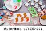 flat lay. step by step.... | Shutterstock . vector #1363564391