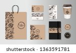 template identity. coffe shop ... | Shutterstock .eps vector #1363591781