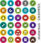 white solid icon set  soap... | Shutterstock .eps vector #1363698521