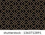 the geometric pattern with... | Shutterstock .eps vector #1363712891