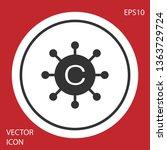 grey copywriting network icon... | Shutterstock .eps vector #1363729724