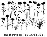 collection of vector... | Shutterstock .eps vector #1363765781
