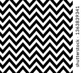 seamless zig zag pattern in... | Shutterstock .eps vector #1363839341