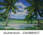 Oil Paintings Of The Coast Nea...