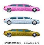 Limousine - stock vector