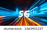 moving forward motion blur...   Shutterstock . vector #1363901237