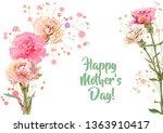 horizontal mother's day ...   Shutterstock .eps vector #1363910417