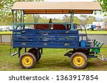 Colorful Vintage Wagon For...