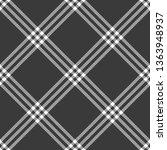 black white cage rhombus check...   Shutterstock .eps vector #1363948937