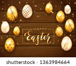 card with lettering happy... | Shutterstock .eps vector #1363984664
