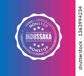 moussaka vintage label  ...   Shutterstock .eps vector #1363994234