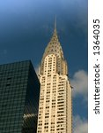 Chrysler Building In New York...