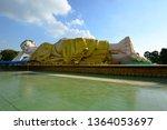 the huge statue of the mya tha... | Shutterstock . vector #1364053697